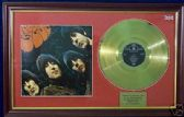 THE BEATLES -  Rubber Soul -  24 Carat Gold disc & cover
